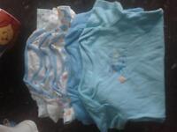 3-6 month baby boy vest set