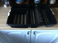 LARGE DUNELM DISH RACK