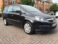 2007 ZAFIRA 7 SEATS 1.8 NEW MOT ( NO ADVISORY) FULL SERVICE HISTORY EXCELLENT