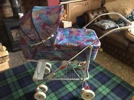 Vintage SilverCross Wayfarer Carrycot Buggy pram