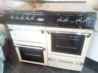 LEISURE COOKMASTER 101 DUEL FUEL OVEN/RANGE WITH FREE EXTRACT