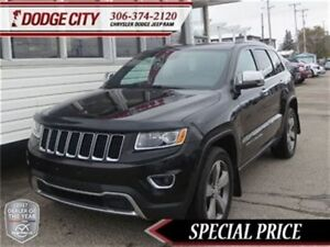 2015 Jeep Grand Cherokee Limited   4x4   PST Paid - Sunroof, Rem
