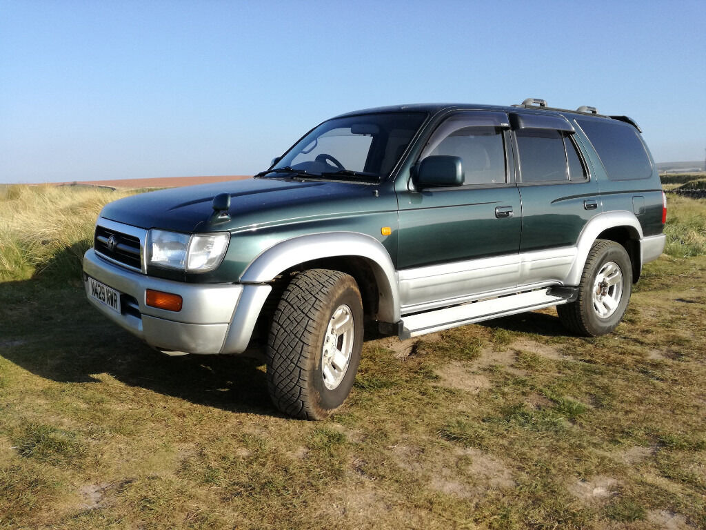 toyota hilux surf 4x4 ssr g auto 1996 3rd gen with mot. Black Bedroom Furniture Sets. Home Design Ideas