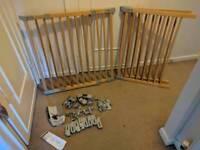 BabyDan Flexi Fit wooden stair gates