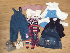 Baby girl's clothes bundle 6-9 months