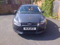 Ford Focus 1.6 125 Zetec, 2011, Low mileage 46,000 miles.
