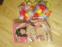 Hawaiian Flower Bra - One Size - New in Packaging