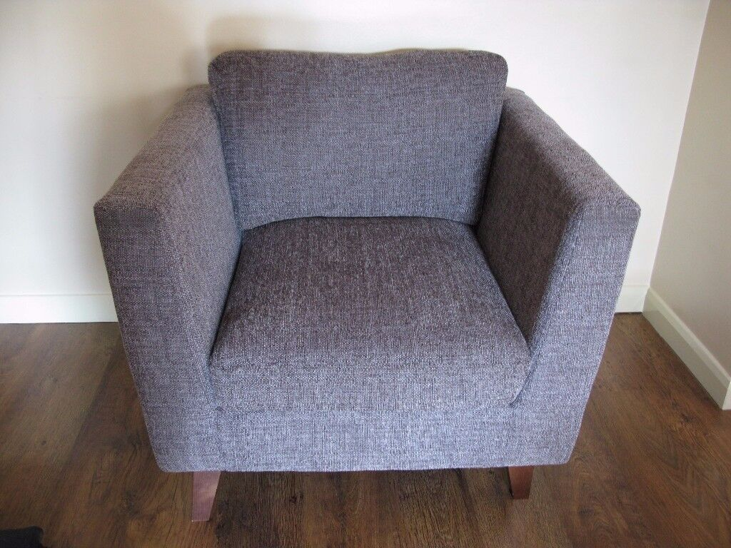 Beautiful Comfortable Sam Fabric Armchair Lisbon In Dark Grey Dunelm Collection In Cheshunt Hertfordshire Gumtree