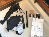 Studio Photography Set - Continuous Light