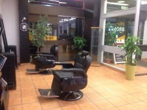 Local esthetique chaises coiffure à louer