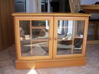 Solid Corner TV Cabinet £50 Ono