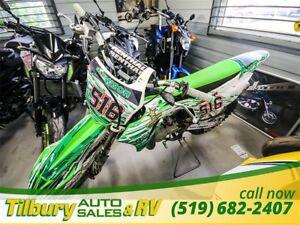 2014 Kawasaki KX100D9FA Monster Energy Edition