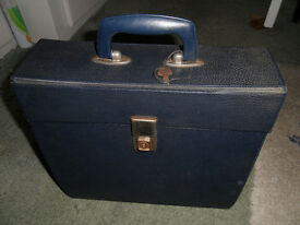 Retro LP records storage case