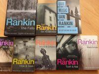 Books - 8 Ian Rankin novels.