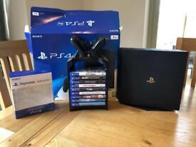 PS4 Pro 1tb plus extras