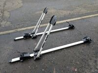 "Mont blanc ""Roofspin"" cycle carriers x2"