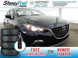 2015 Mazda Mazda3 GS- 7 YEAR WARRANTY / FREE WINTER TIRES / FREE