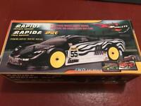 Brand new Nitro Rapida car and extras