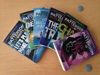 6 x JAMES PATTERSON BookShot Books