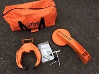 Nemesis wheel clamp heavy duty
