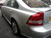VOLVO S40 SPORT . 1.8 SALOON CAR .12 MOT.METALIC SILVER. ALLOY WHEEL