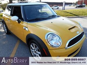 2007 MINI Cooper S 6SPD ** CERT E-TEST ACCIDENT FREE ** $7,999