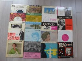 19 Assorted Classical Singles in great condition.