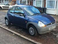 FORD KA ENGINE 1.2 06 2006 PLATE LOW MILEAGE 68000 TWO OWNER SERVICE HISTORY GOOD RUNNER