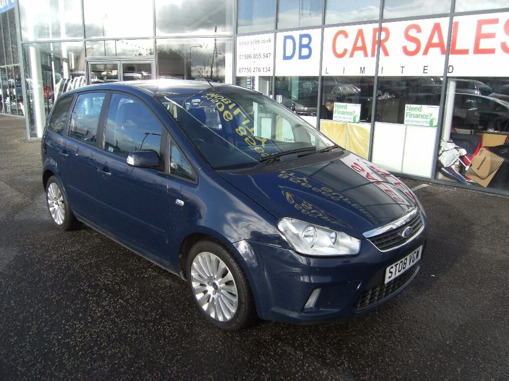 2008 08 FORD C-MAX 1.8 TITANIUM 5d 124 BHP **** GUARANTEED FINANCE **** PART EX WELCOME