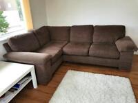 Next Home Left Hand Side Corner Sofa