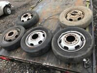 Ford transit mk6 Luton tipper truck wheels loads available