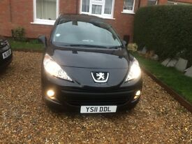 Peugeot 207 estate 1.6 diesel, £20 to tax. 2011, low miles