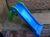 Blue Little Tikes My First Slide Outdoor Plastic Slide