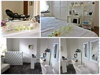 Salon & Skin Treatments room to rent on busy road private parking spaces