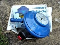 calor gas regulator, brand new in box, snap on.