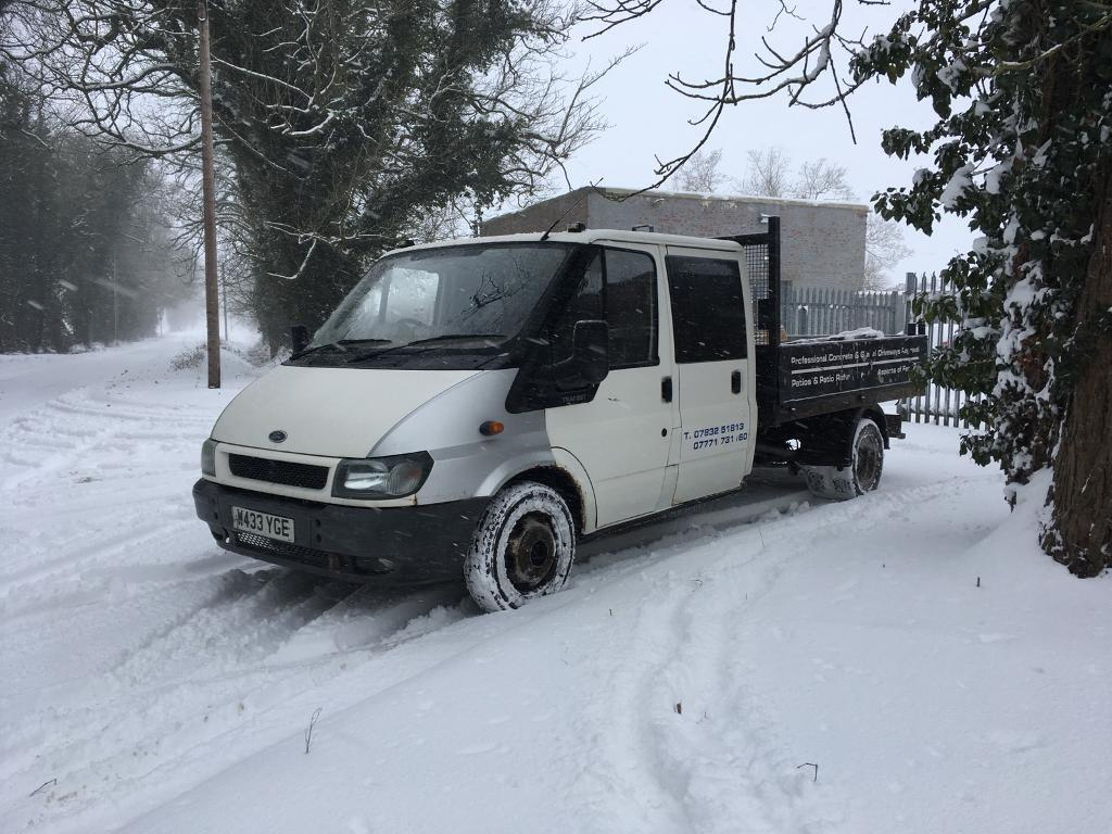 Ford Transit MK6 2.4 TDDI Crewcab Tipper Ideal Banger Recovery