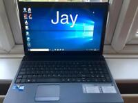 i3 4GB Ram VFast Like New Acer HD Laptop Massive 500GB,Window10,Microsoft office,Ready to use