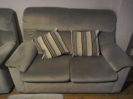 Sofa, chair and footstool for sale