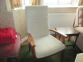 Upright Chairs x 2