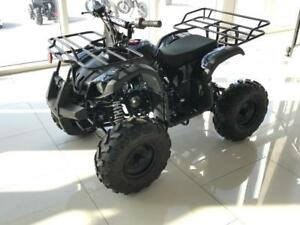 "FREE SHIPPING NEW Venom 125cc Teen/Adult Gas ATV 4 stroke - Reverse + Big 8"" Tires + Metal Racks + 6-Months Warranty"