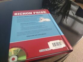 BARRON'S DOG BIBLES BICHON FRISE By Richard G. Beauchamp. In very good condition. Collection only
