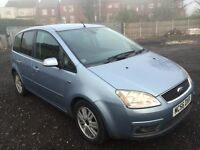 Ford Focus c max ghia automatic 2006 56 2.0 petrol ice blue service history 89000 miles excellent