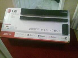 Lg sound bar @ subwoofer (new)