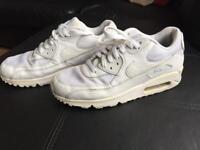 White Air Max size 8