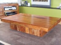 Beautiful acacia wood coffee table from next.