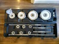 50kg barbell and dumbbell set