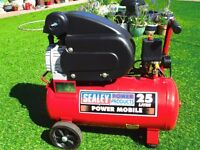 Sealey 25ltr 1.5 hp Air Compressor,Light use.Excellent Condition.