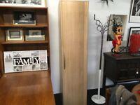 Single Full Hanging Wardrobe with 1 Shelf