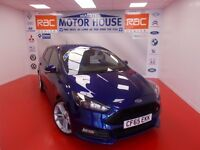 Ford Focus ST-3 TDCI (FULLY LOADED) FREE MOT'S AS LONG AS YOU OWN THE CAR!!! (blue) 2015