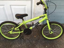 Child's bmx bike bicycle